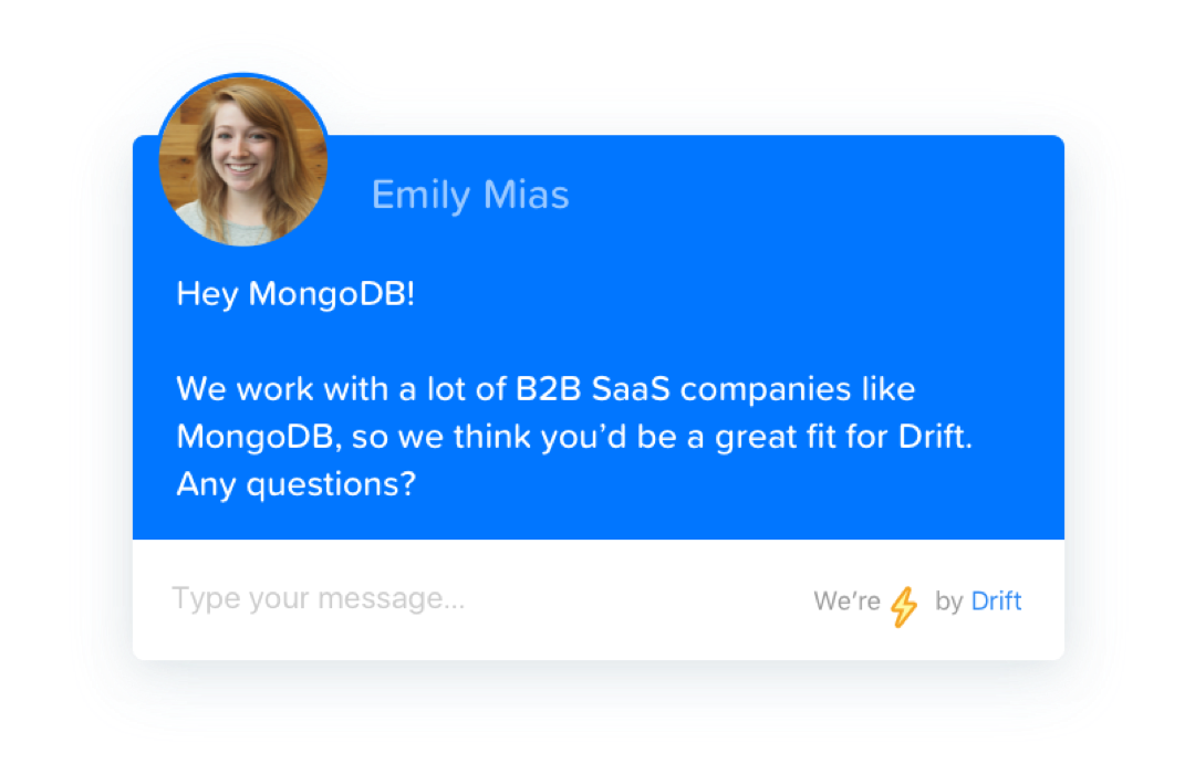 Personalised chatbots