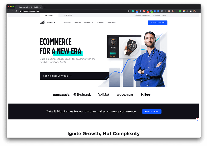 BigCommerce ecommerce platform