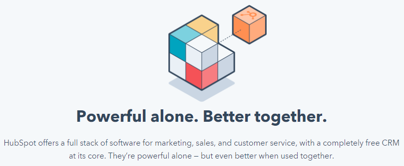HubSpot Powerful Alone Better Together