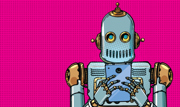 Automated marketing robot