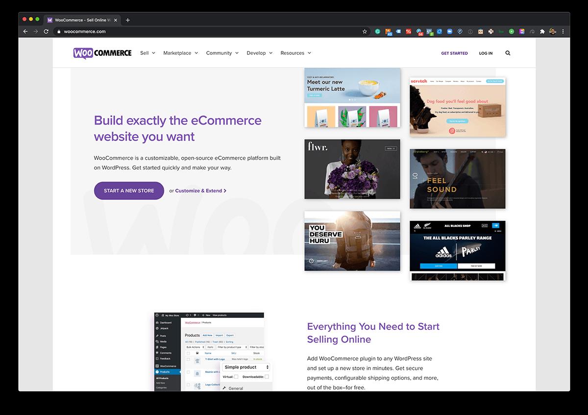 WooCommerce ecommerce software