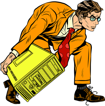 carrying computer