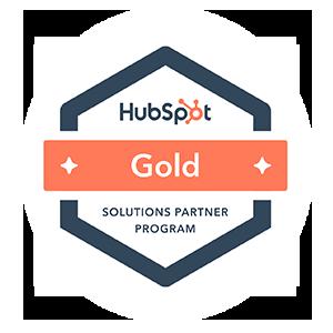 Hubspot Gold Solutions Partner Badge