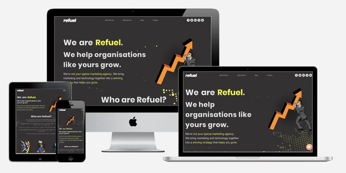 New Refuel Website Built in HubSpot COS