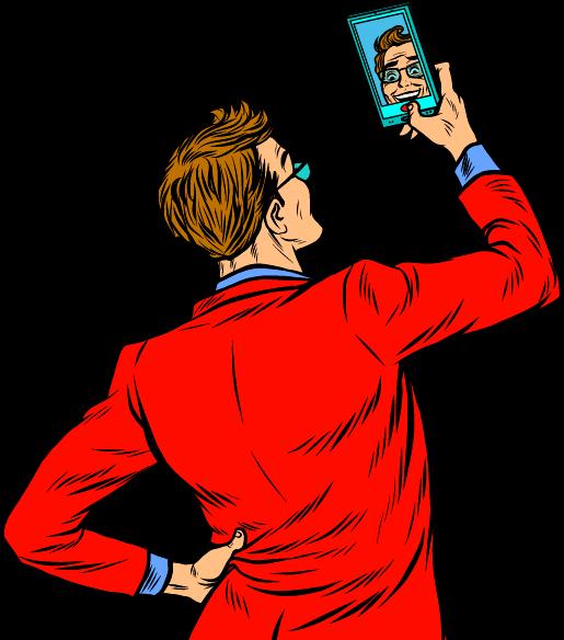 selfie guy