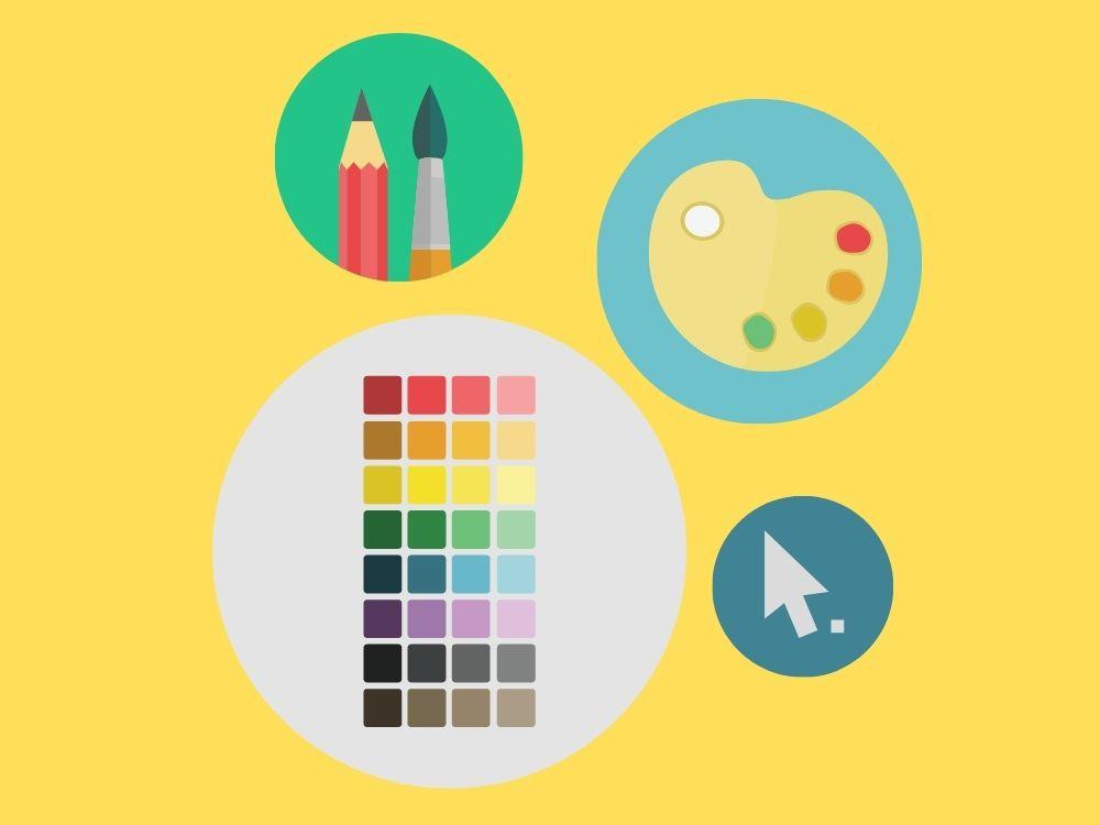art graphics for graphic design job ads