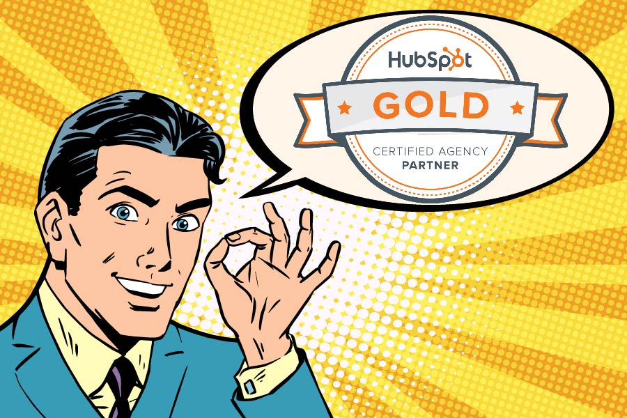 hubspot gold blog feature image